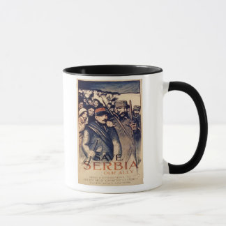 'Save Serbia Our Ally', poster, 1915 (litho) Mug