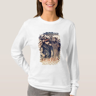'Save Serbia Our Ally', poster, 1915 (litho) T-Shirt