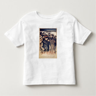 'Save Serbia Our Ally', poster, 1915 (litho) Toddler T-Shirt