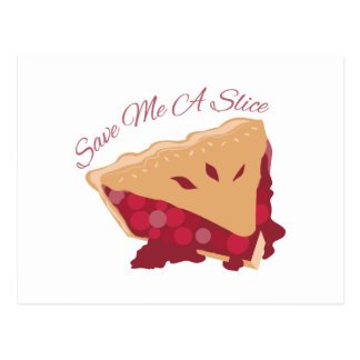 Save Slice Post Cards