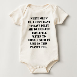 Save Some Earth For Our Children Rompers