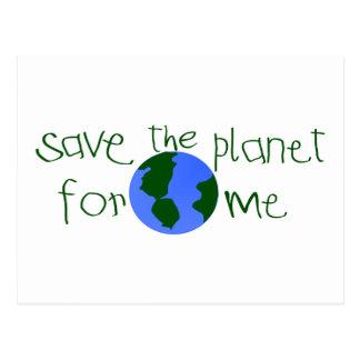 Save some Planet for me Postcard
