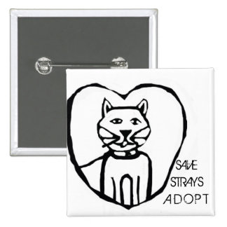Save Strays Button