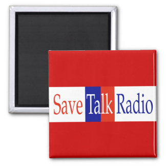 Save Talk Radio Magnet