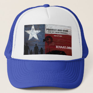 Save Texas from federal gvt Trucker Hat