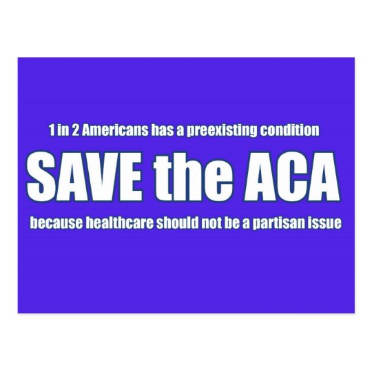 Save the ACA Postcard