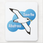 Save the Albatross (flight) Mousemat