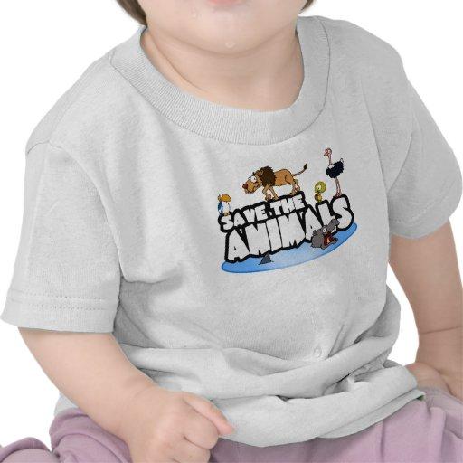Save the Animals Baby Tee