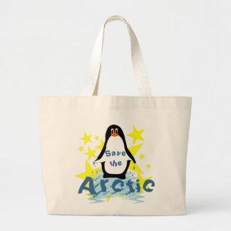Save the Arctic Jumbo Tote Bag