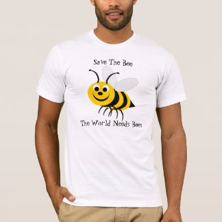 Save The Bee Design T-Shirt