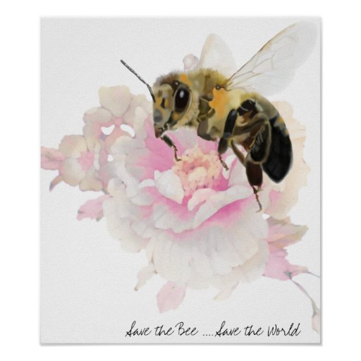 Save the Bee! Save the World! Pretty Bee