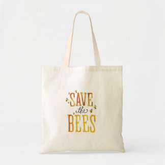 Save The Bees Budget Tote Bag
