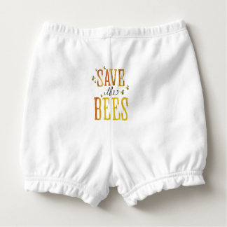 Save the Bees Nappy Cover