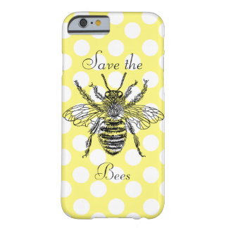 Save the Bees Phone Case Barely There iPhone 6 Case