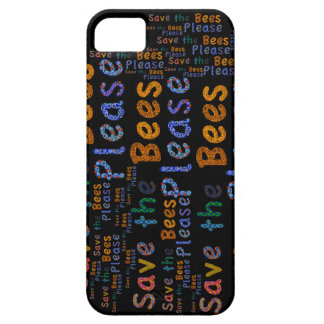 Save the Bees Please iphone case iPhone 5 Covers