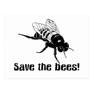 Save the Bees Postcards