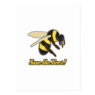 Save The Bees! Post Cards