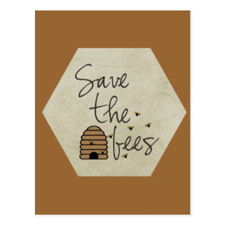 Save the Bees Post Cards