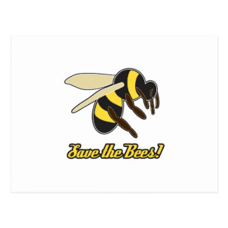 Save The Bees! Postcard