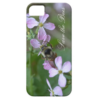Save the Bees...Radish Flowers Phone Case iPhone 5 Covers
