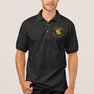 Save The Bees Save The World Polo T-shirts