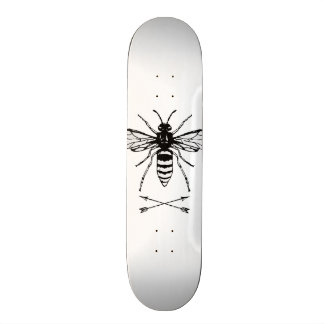 Save the bees 18.1 cm old school skateboard deck