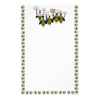 Save the Bees Stationery