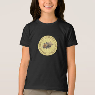 Save the Bees |  Vintage Honeybee & Honeycomb T-Shirt