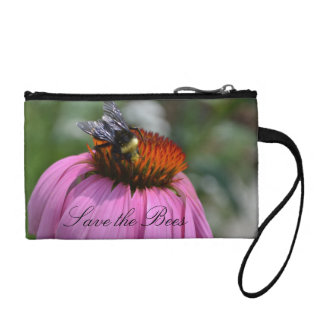 Save the Bees Wristlet