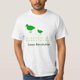 Save the birds: Holiday Fun Green T Shirt