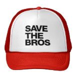 Save the Bros Hat - Red
