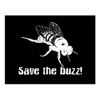 Save the Buzz Postcards