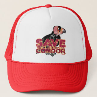 Save the California Condor Trucker Hat