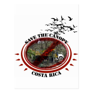 Save the Canopy-Costa Rica Post Cards