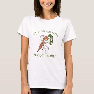 Save The Carrots Shoot Rabbits T-Shirt