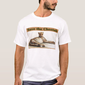 Save the Cheetah T-Shirt