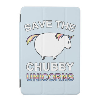 Save The Chubby Unicorns iPad Mini Cover