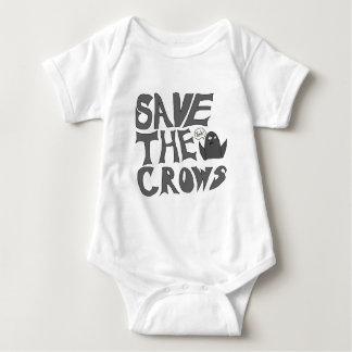 Save the Crows Baby Bodysuit