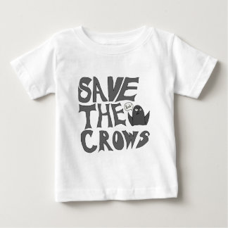 Save the Crows Baby T-Shirt