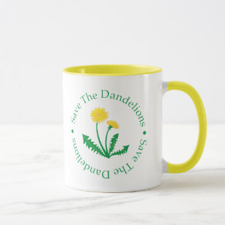 Save The Dandelions Mug