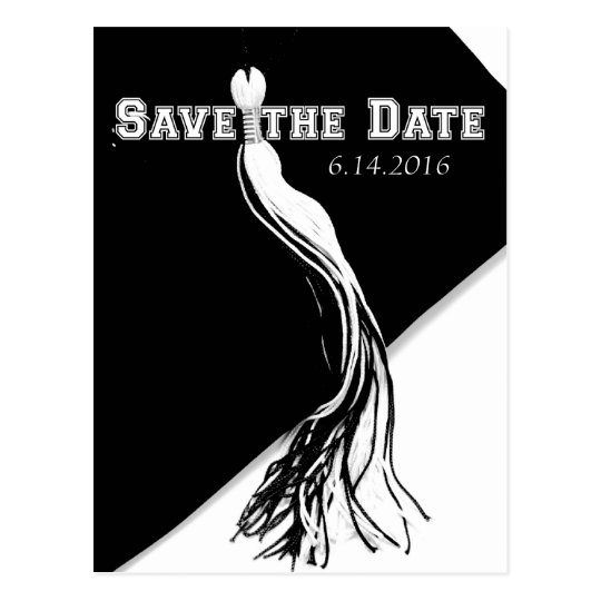 Save the Date 2016 Graduation Postcard