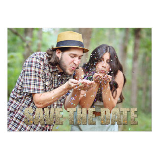 Save the Date 5x7 Post Card look