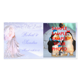 Save The Date Add Your Photograph And Names :) Photo Cards