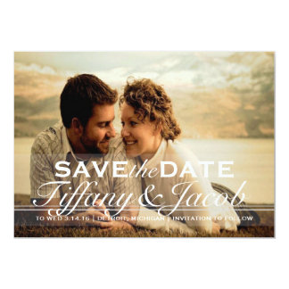 """Save the Date Announcement 