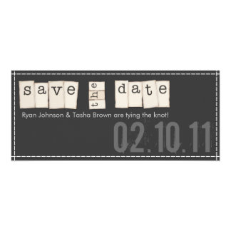 Save the Date Announcements {Black}
