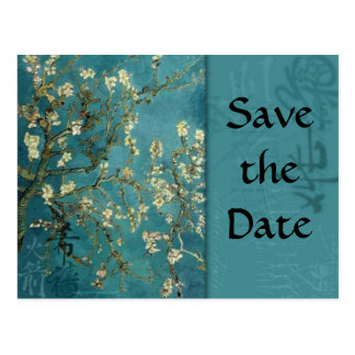 Save the Date Asian Postcard