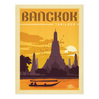 Save the Date | Bangkok, Thailand Postcard