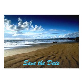 Save The Date Beach  Invitation