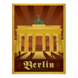 Save the Date | Berlin, Germany Postcard