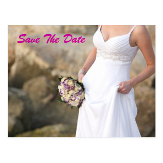Save the Date Bridal Shower Postcard